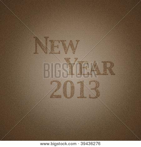 Neues Jahr 2013.