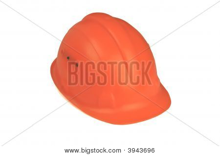 Hard Hat On White