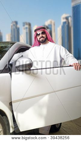 Arabian Guy in the City