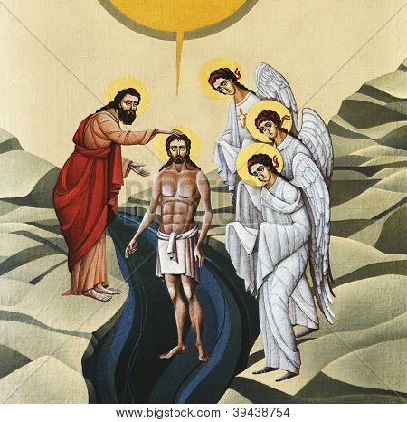 Igreja de St. Anne - batismo de Jesus
