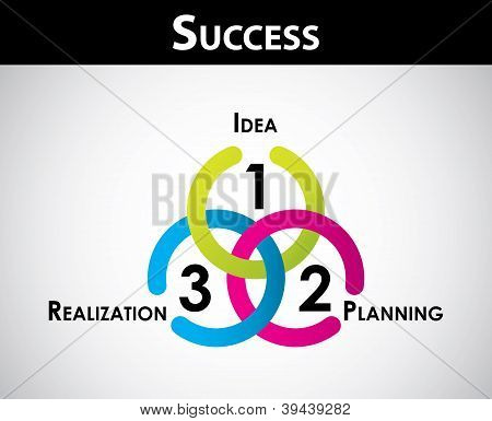 Success Concept - Special Business Background For Your Website