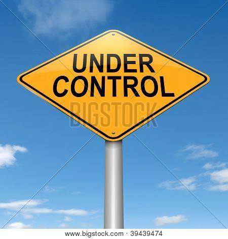 Under Control.