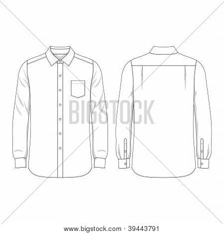 Blank Men's Shirt