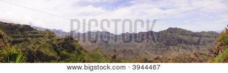The Mountain Range Of Santo Antao