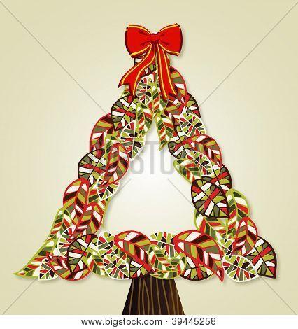 Diversity Leaves Christmas Tree