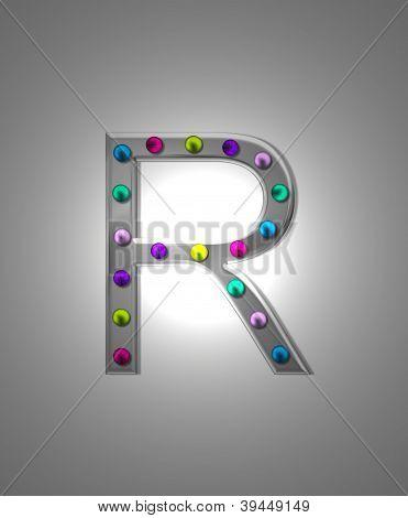 Alphabet Metall Festzelt rr