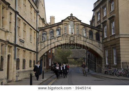 Oxford University Graduation Day