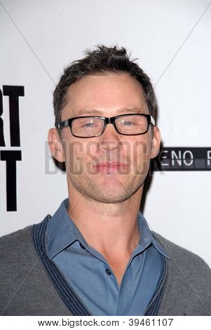 LOS ANGELES - NOV 27:  Jeffrey Donovan arrives at the 'Certainty' Los Angeles premiere at Laemmle Music Hall on November 27, 2012 in Beverly Hills, CA