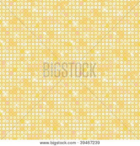Golden sparkles seamless pattern background