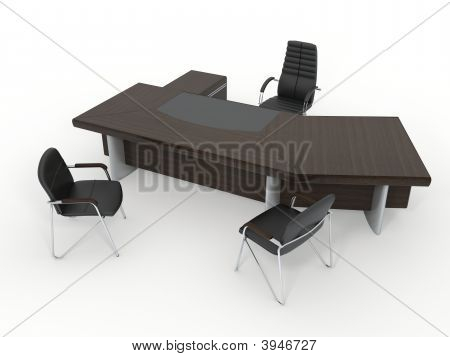 The Office Director'S Furniture Complete Set