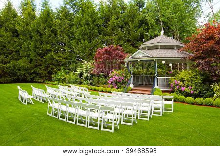 Wedding Venue And Chairs