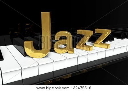 Golden Jazz Sign