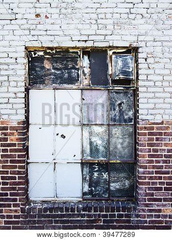 Gritty Warehouse Window