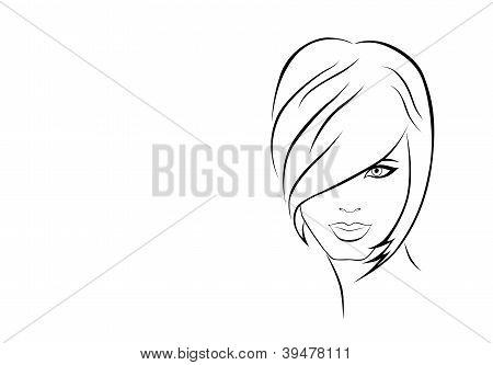 Abbildung des Mädchens