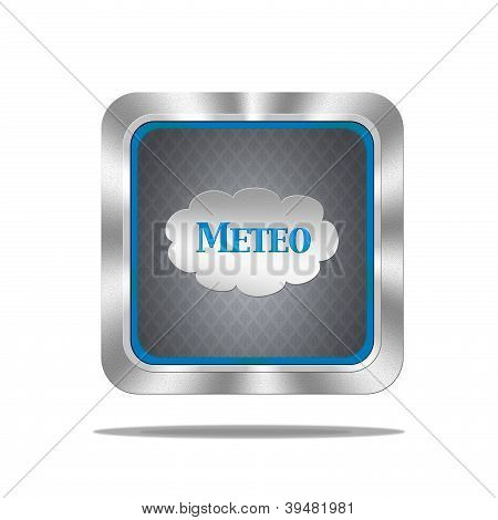Meteo-Schaltfläche.