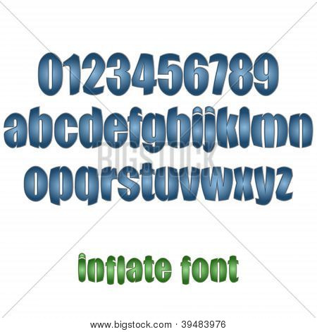 Inflate Font