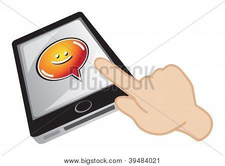 Handphone Chatting