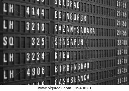 Flight Schedule Display