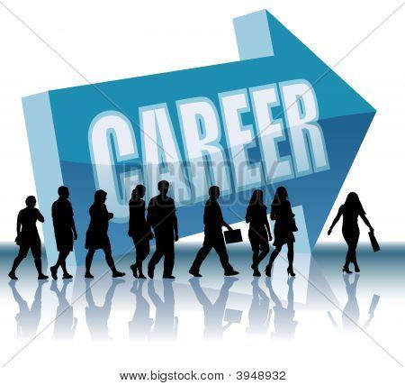 Richtung Karriere