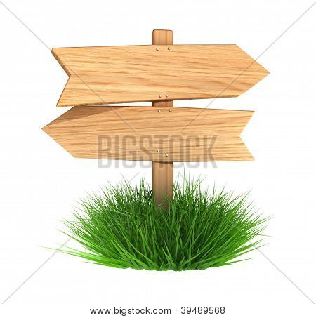 Wooden Arrow Board