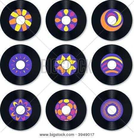 Record Vinyl Retro.Eps