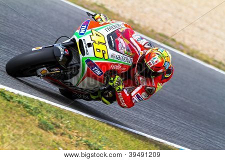 Valentino Rossi Pilot Of Motogp