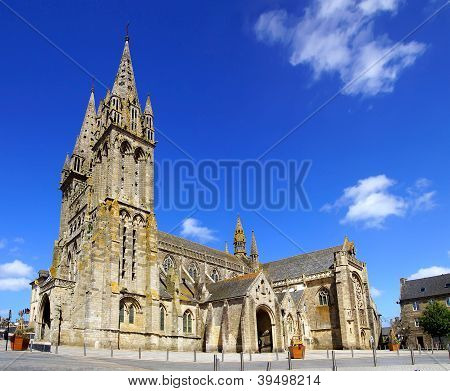 Cathedral in Saint-Pol-de-Leon. France