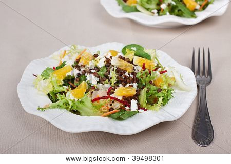 Plate Full Of Salad