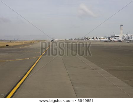View Down The Runway