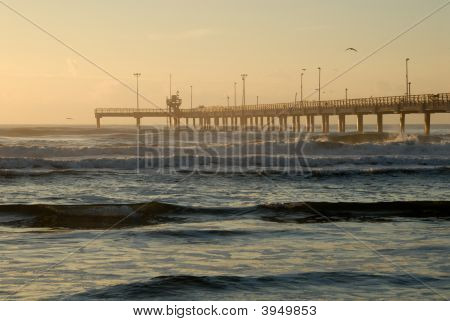Pier In The Morning