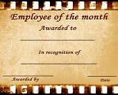 foto of employee month  - employee of the month - JPG