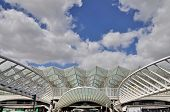 picture of gare  - LISBON PORTUGAL  - JPG