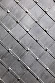 stock photo of stelles  - Texture of metal black stell for background - JPG