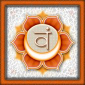 picture of kundalini  - Illustration of a main chakra - JPG