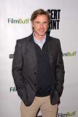 LOS ANGELES - NOV 27:  Sam Trammell arrives at the 'Certainty' Los Angeles premiere at Laemmle Music