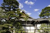 picture of shogun  - Nijo Castle was built in 1603 as the Kyoto residence of Tokugawa Ieyasu the first shogun of the Edo Period  - JPG