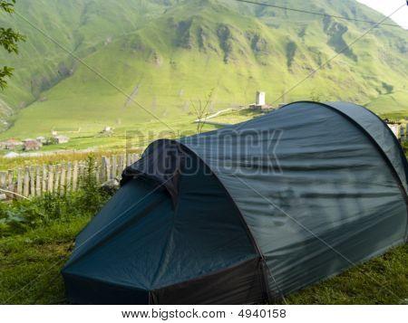 Tent In Ushguli
