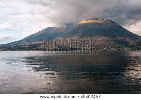 Imbabura Stratovolcano In Northern Ecuador