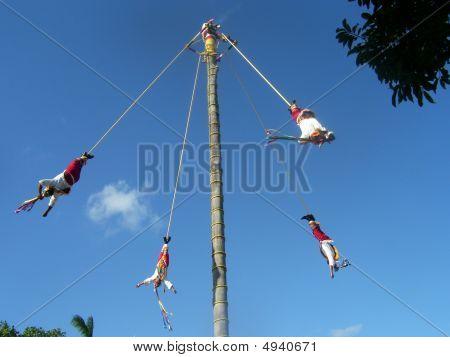 Flying Men Of Papantla