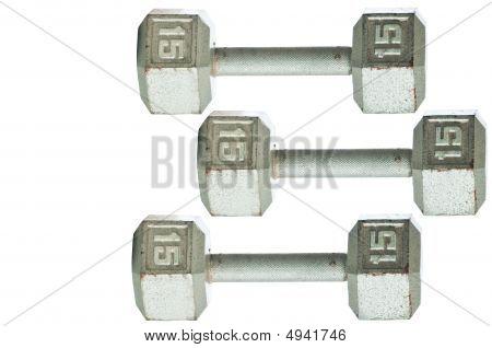 Three Barbells