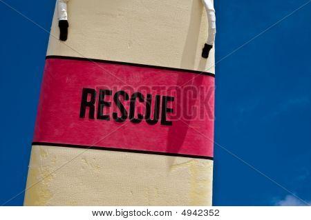 Lifeguard's Surfboard