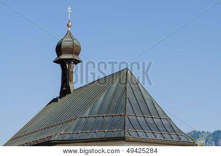 Church Roof In Tirol