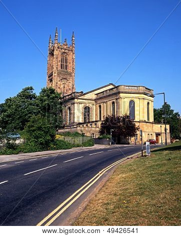 All Saints Cathedral, Derby, England.