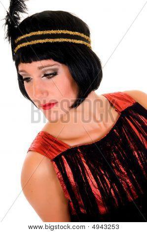 Woman Charleston Dress