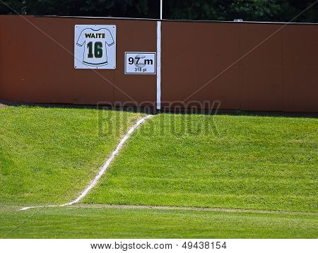 Canada Games Baseball Outfield Hill Fence
