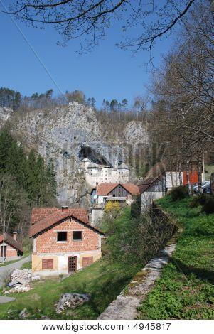 Buildings In Predjama, Slovenia