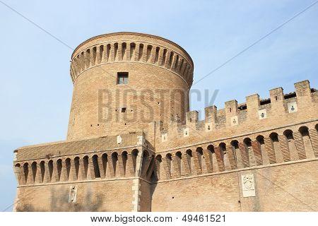 Ostia Antica Castle, Italy
