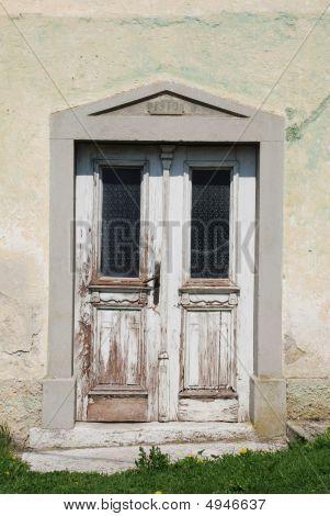 Door In Predjama Building