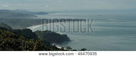 South Pacific Costa Rica shoreline