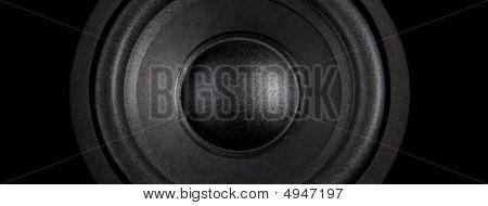 Black Speaker Wide